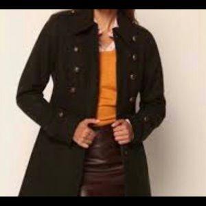 💕Beautiful Deep Green Wool blend coat 💕